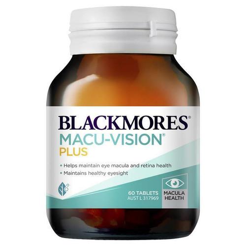 Blackmores Macu Vision Plus 60 Tablets Blackmores SuperPharmacyPlus