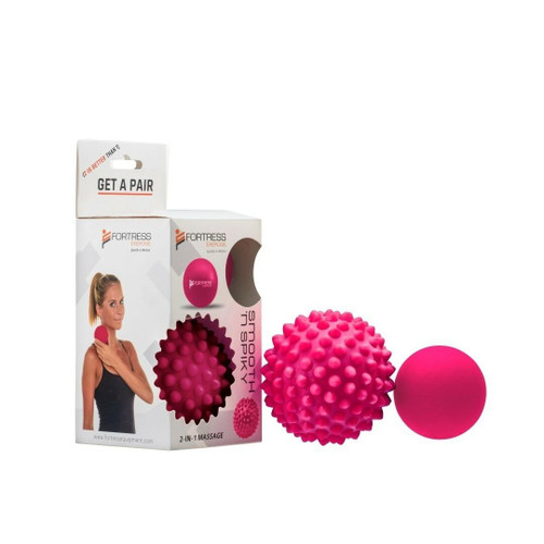 Fortress Smooth N Spiky Ball Set Fortress SuperPharmacyPlus