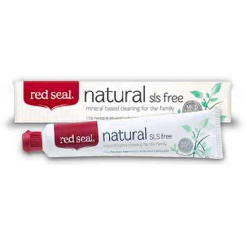 Red Seal Toothpaste Natural SLS-free 110g Red Seal SuperPharmacyPlus