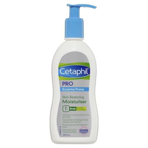Cetaphil Pro Eczema Prone Skin Restoring Body Moisturiser 295ml Cetaphil SuperPharmacyPlus