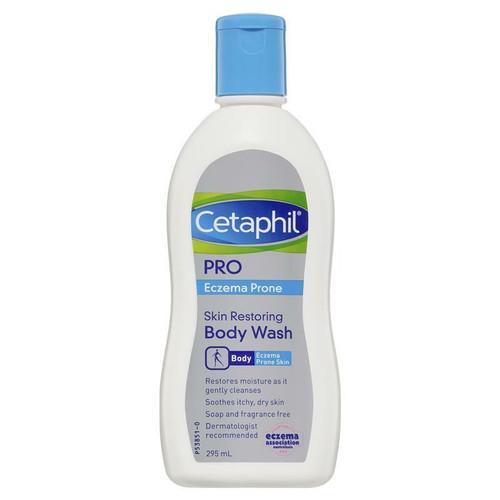 Cetaphil Pro Eczema Prone Skin Restoring Body Wash 295ml Cetaphil SuperPharmacyPlus