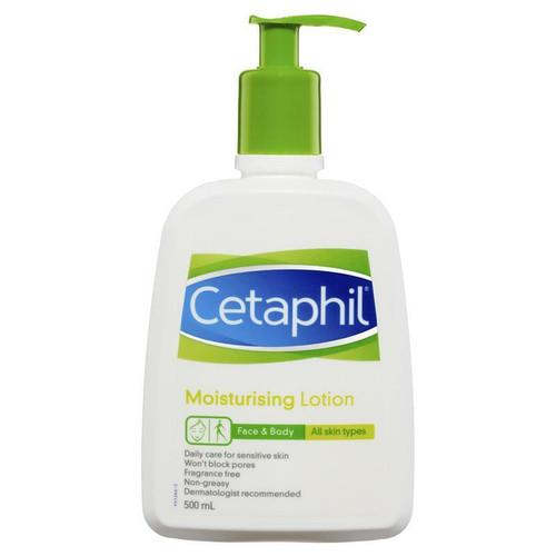 Cetaphil Moisturising Lotion 500ml Cetaphil SuperPharmacyPlus