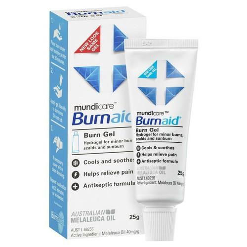 Burnaid Burn Gel 25g Mundipharma SuperPharmacyPlus