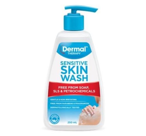 Dermal Therapy Sensitive Skin Wash 250g Dermal Therapy SuperPharmacyPlus