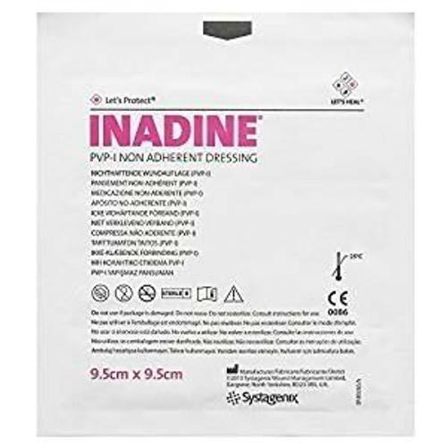 Inadine PVP-I Non-Adherent Single Dressing 9.5 x 9.5cm Systagenix SuperPharmacyPlus