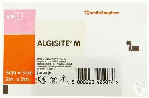 Algisite M Calcium Alginate Single Dressing 5cm x 5cm Smith and Nephew SuperPharmacyPlus