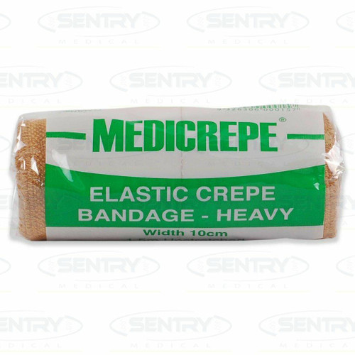 Medicrepe Heavy Elastic Crepe Bandage 10cm x 1.5m Unstretched Sentry Medical Pty Ltd SuperPharmacyPlus