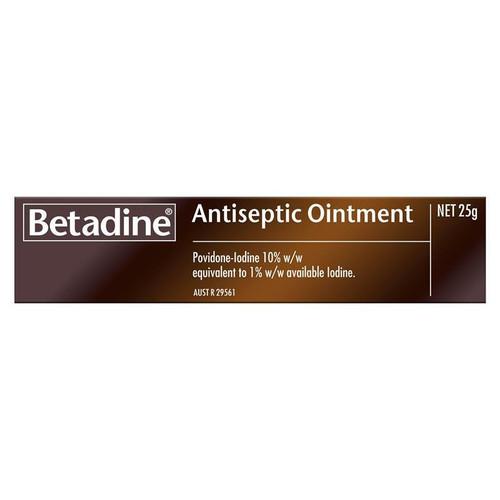 Betadine Antiseptic Ointment 25g Betadine SuperPharmacyPlus