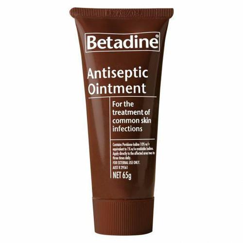 Betadine Antiseptic Ointment 65g Betadine SuperPharmacyPlus