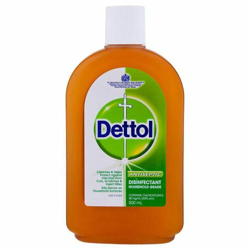 Dettol Antiseptic Antibacterial Disinfectant Liquid 500ml Reckitt Benckiser SuperPharmacyPlus