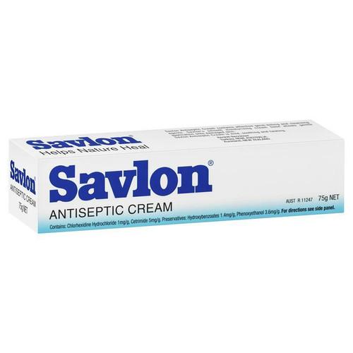 Savlon Antiseptic Cream for Cuts Grazes Bites 75g Reckitt Benckiser SuperPharmacyPlus