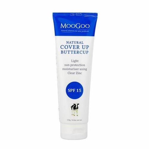 Moo Goo Cover Up Buttercup SPF 15 Natural Moisturiser 120g MooGoo SuperPharmacyPlus