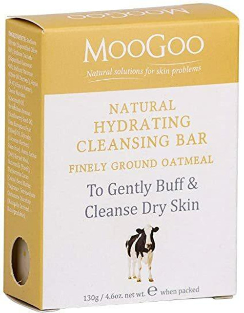 Moo Goo Finely Ground Oatmeal Hydrating Cleansing Bar 130g MooGoo SuperPharmacyPlus
