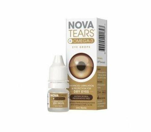 NovaTears Omega-3 Eye Drops 3mL AFT Pharmaceuticals SuperPharmacyPlus