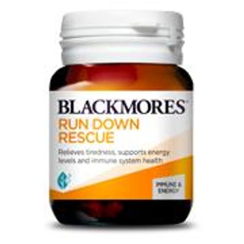 Blackmores Run Down Rescue 30 Tablets Blackmores SuperPharmacyPlus
