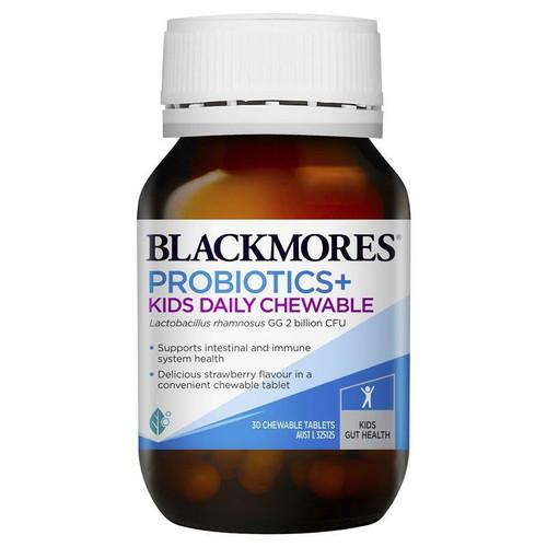 Blackmores Probiotics Kids Daily Chewable 30 Tablets Blackmores SuperPharmacyPlus