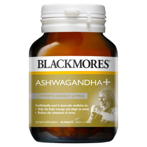 Blackmores Ashwagandha 60 Tablets Blackmores SuperPharmacyPlus