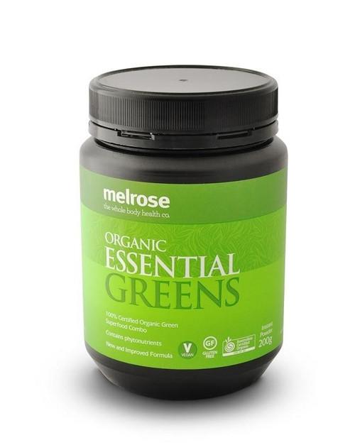 Melrose Organic Essential Greens Powder 200g Melrose SuperPharmacyPlus