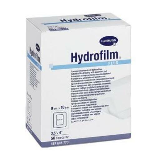 Hartmann Hydrofilm Plus Dressings 9cm x 10cm 50 Pack Hartmann SuperPharmacyPlus