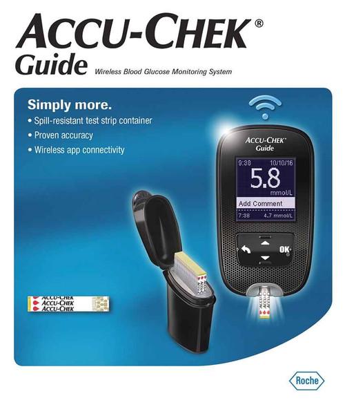 Accu-chek Guide Blood Glucose Monitor Accu-Chek SuperPharmacyPlus