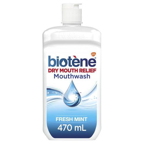 Biotene Dry Mouthwash 470mL Biotene SuperPharmacyPlus