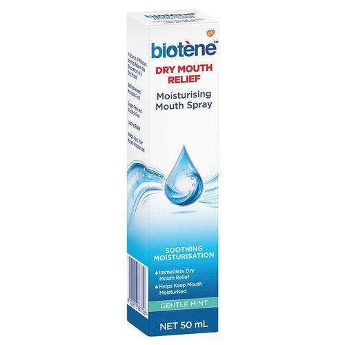 Biotene Dry Mouth Moisturising Spray or Gentle Mint or 50ml Biotene SuperPharmacyPlus