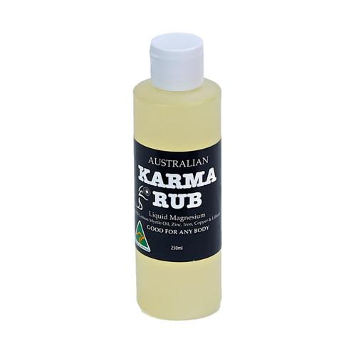 Karma Rub Liquid Magnesium 250mL Karma Naturals SuperPharmacyPlus