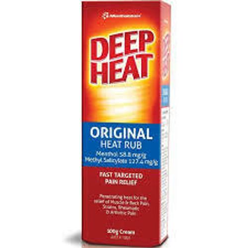 Deep Heat Mentholatum 100g Deep Heat SuperPharmacyPlus