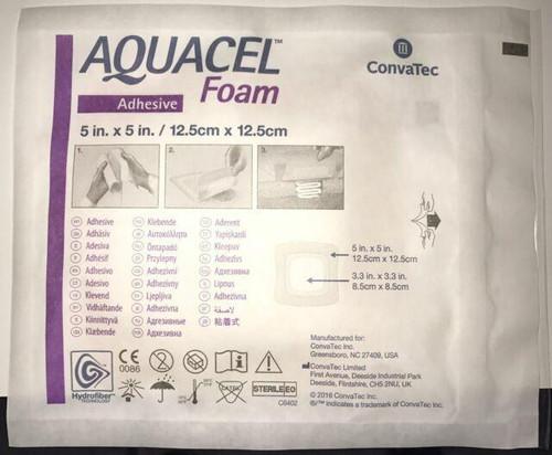 Aquacel Foam Non Adhesive 5cm X 5cm Convatec SuperPharmacyPlus