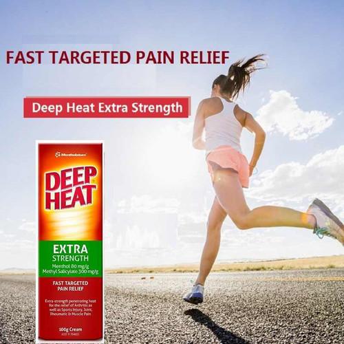 Deep Heat Extra Strength Cream 100g Deep Heat SuperPharmacyPlus