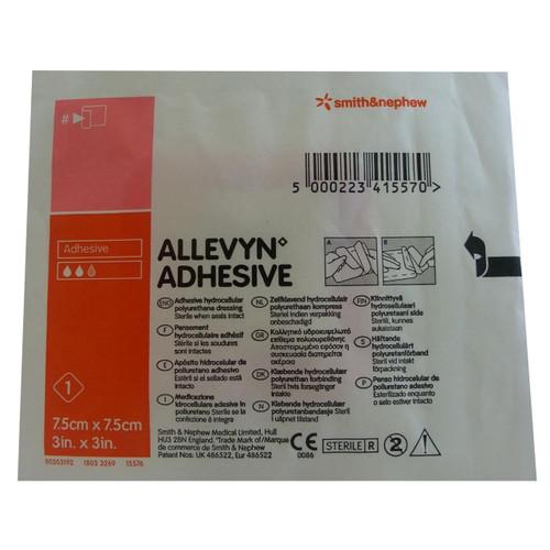 Allevyn Classic Adhesive 7.5cm X 7.5cm Single Dressing Smith and Nephew SuperPharmacyPlus
