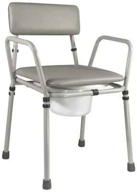 Essex Bedside Commode Wt Capacity 154kg Rehab and Mobility Wholesalers SuperPharmacyPlus