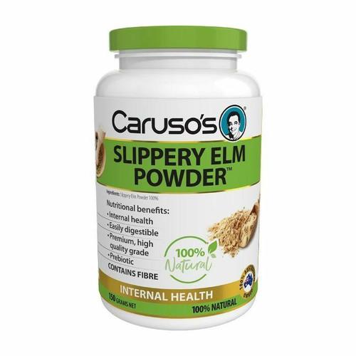 Carusos Natural Health Slippery Elm Powder 150g Carusos SuperPharmacyPlus
