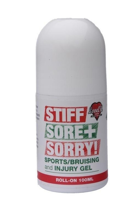 Stiff Sore Sorry Sports and Injury Gel 100ml Love Oil Collection SuperPharmacyPlus