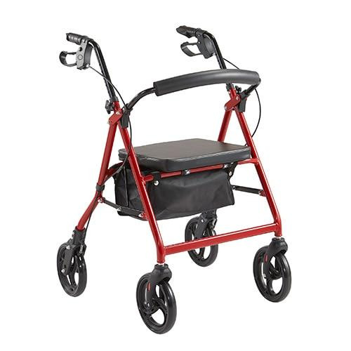 Rollator 8 Deluxe RM202 50cm seat height Rehab and Mobility Wholesalers SuperPharmacyPlus