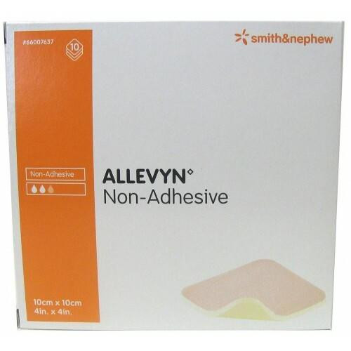Allevyn Non-Adhesive dressings 10x10cm 10 Pack Smith and Nephew SuperPharmacyPlus