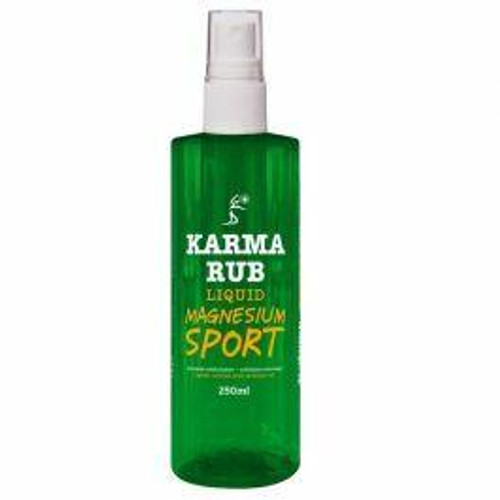 Karma Rub Liquid Magnesium Sport Spray 250ml Karma Naturals SuperPharmacyPlus