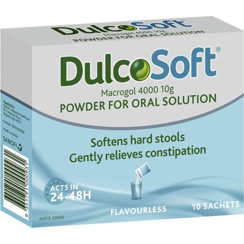 DulcoSoft Powder 10g 10 Sachets Sanofi SuperPharmacyPlus
