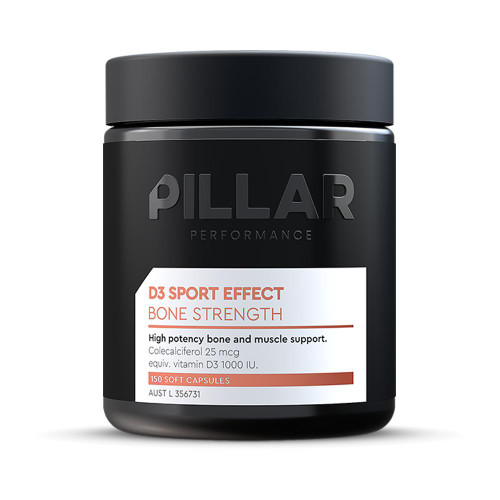 Pillar Vitamin D3 Sport Effect - Bone Strength Soft Caps 150 Pillar Performance SuperPharmacyPlus