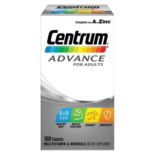 Centrum Advance 100 Tablets Centrum SuperPharmacyPlus