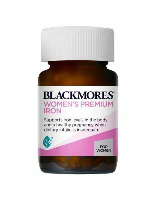 Blackmores Womens Premium Iron 30 Tablets Blackmores SuperPharmacyPlus