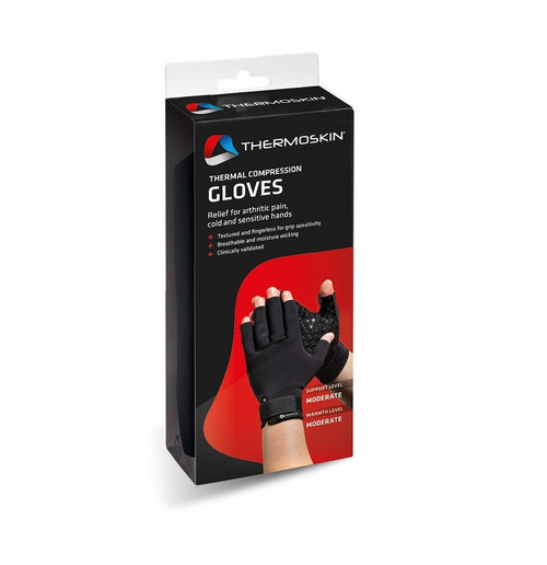 Thermoskin Thermal Compression Gloves Size Medium Thermoskin SuperPharmacyPlus