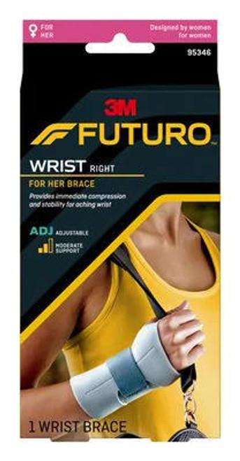 Futuro For Her Adjustable Wrist Brace or Right 95346ENR Futuro SuperPharmacyPlus