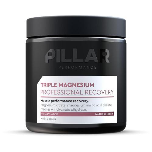 Pillar Triple Magnesium Powder - Professional Recovery Powder 200g Pillar Performance SuperPharmacyPlus