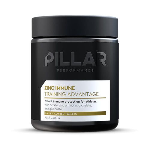 Pillar Zinc Immune - Training Advantage Tab 90 Pillar Performance SuperPharmacyPlus