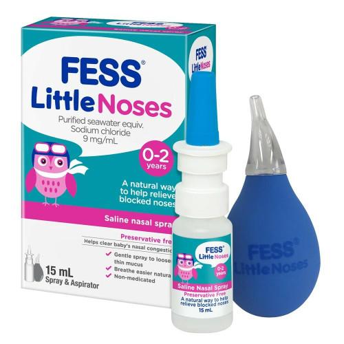 Fess Little Noses Nasal Spray Aspirator 15mL Care Pharmaceuticals SuperPharmacyPlus
