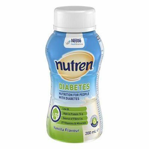 Nutren Diabetes 200ml Ready To Drink Nestle Nutrition SuperPharmacyPlus