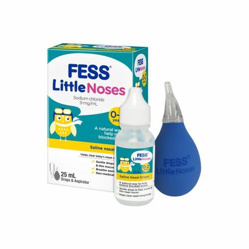 Fess Little Noses Nasal Drops Aspirator 25mL Care Pharmaceuticals SuperPharmacyPlus