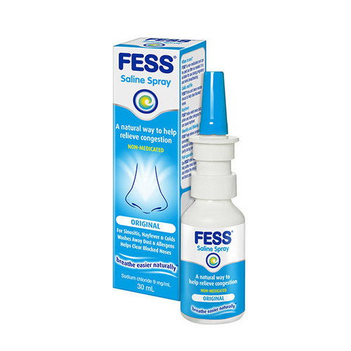 Fess Saline Nasal Spray 30mL Care Pharmaceuticals SuperPharmacyPlus