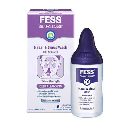 Fess Sinu-Cleanse or Congestion Relief Nasal and Sinus Mist Care Pharmaceuticals SuperPharmacyPlus